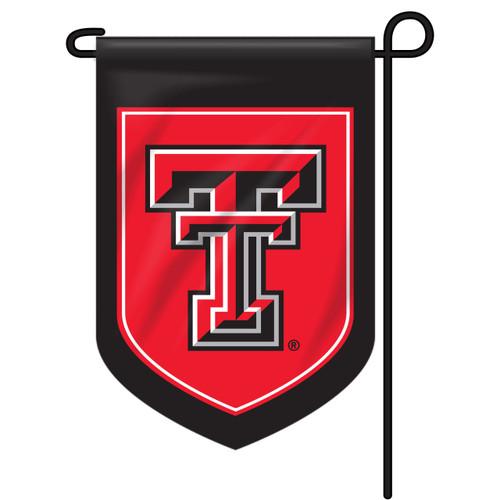 Texas Tech Shield Garden Flag