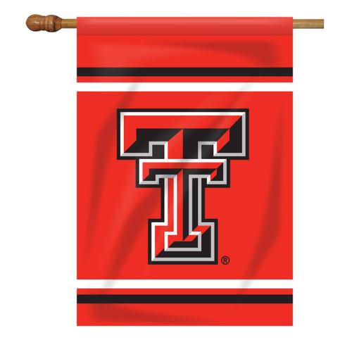 Texas Tech Rectangle House Flag