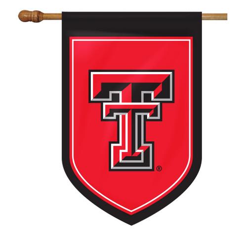 Texas Tech Shield House Flag