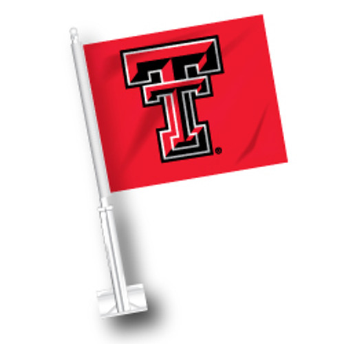 Texas Tech Car Flag