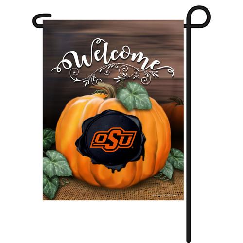 Oklahoma State Pumpkin Garden Flag
