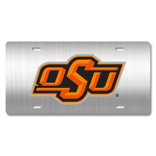 Oklahoma State Metal License Plate