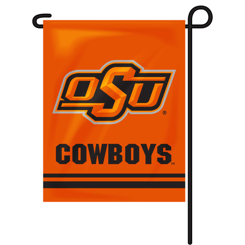 Oklahoma State Rectangle Garden Flag