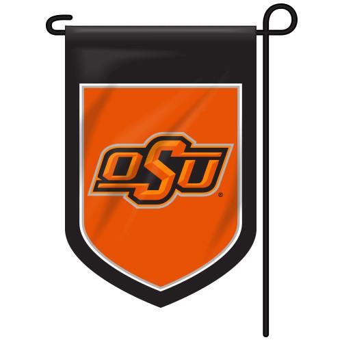 Oklahoma State Shield Garden Flag