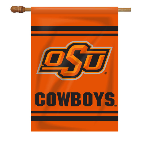 Oklahoma State Rectangle House Flag