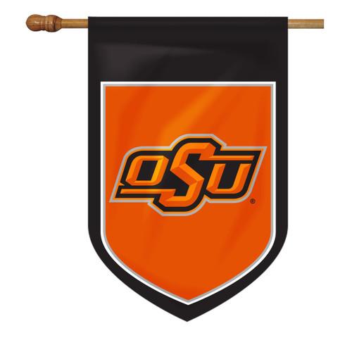 Oklahoma State Shield House Flag