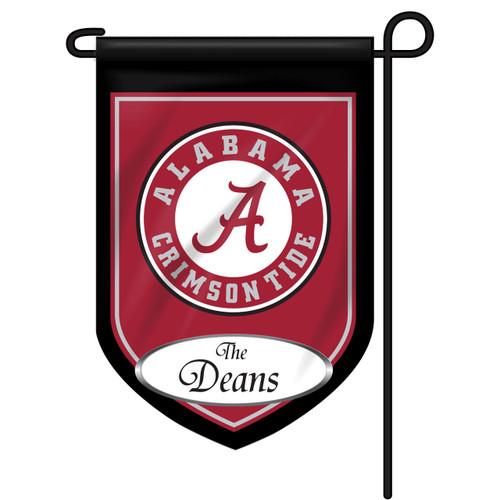 Alabama Personalized Garden Flag