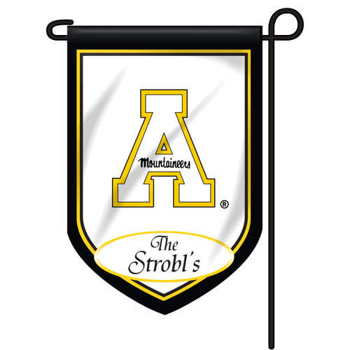 App State Personalized Garden Flag