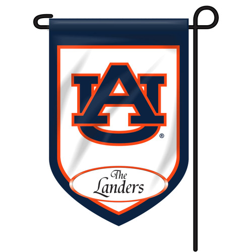 Auburn Personalized Garden Flag