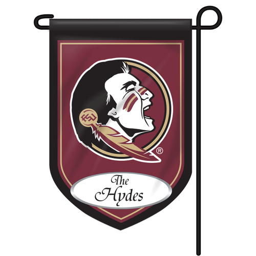 Florida State Personalized Garden Flag