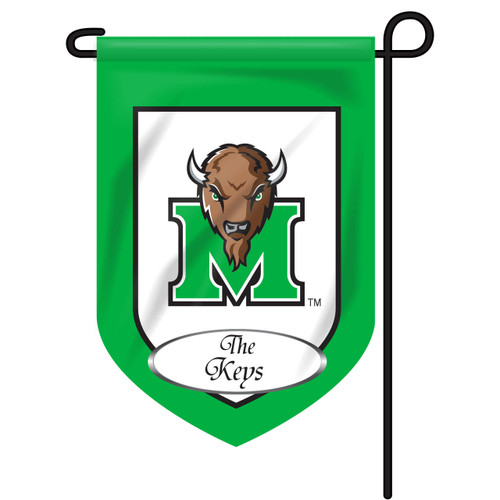 Marshall Personalized Garden Flag
