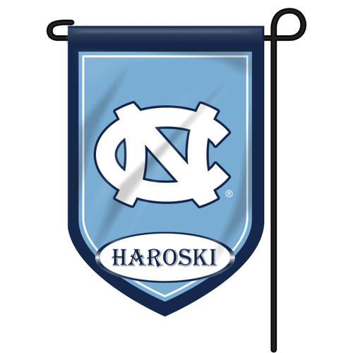North Carolina Personalized Garden Flag