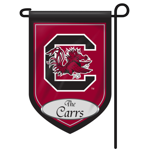 South Carolina Personalized Garden Flag