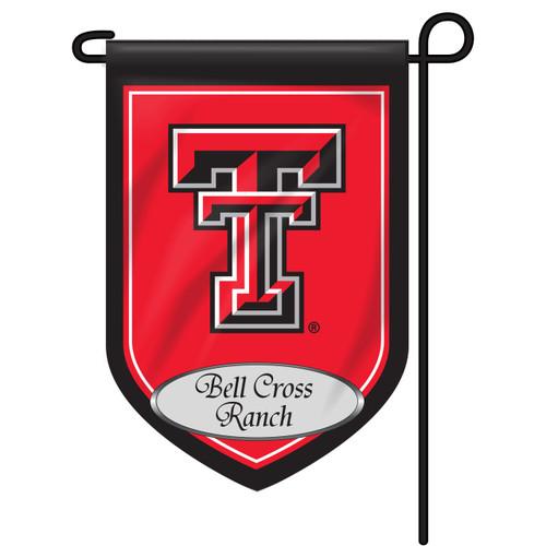 Texas Tech Personalized Garden Flag