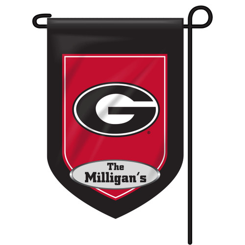 Georgia Personalized Garden Flag