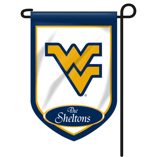 West Virginia Personalized Garden Flag