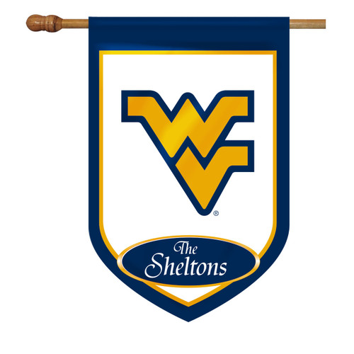 West Virginia Personalized House Flag