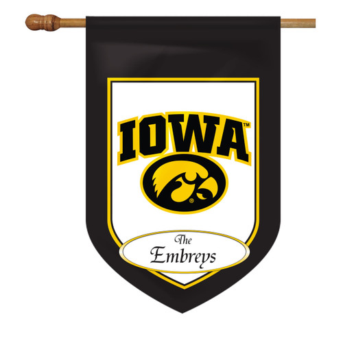 Iowa Personalized House Flag
