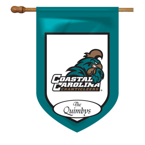 Coastal Carolina Personalized House Flag