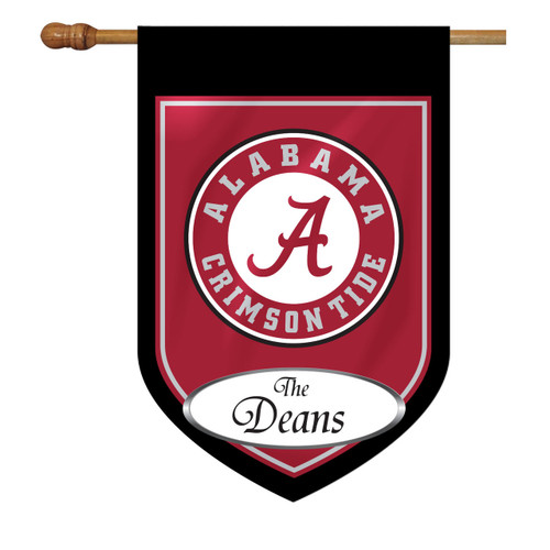Alabama Personalized House Flag