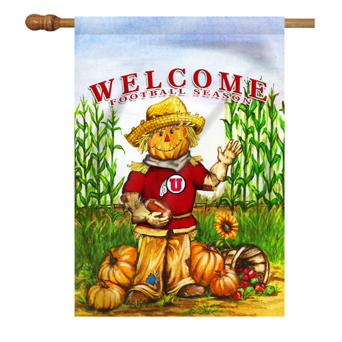 Utah Scarecrow House Flag
