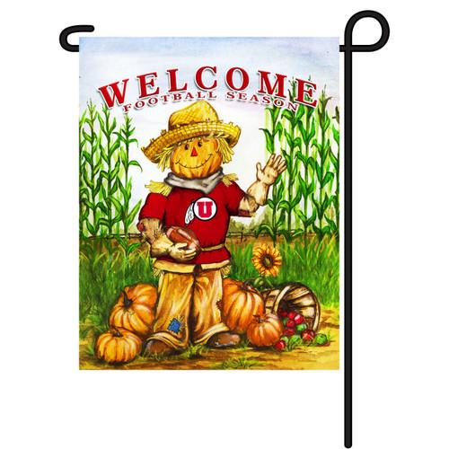 Utah Scarecrow Garden Flag