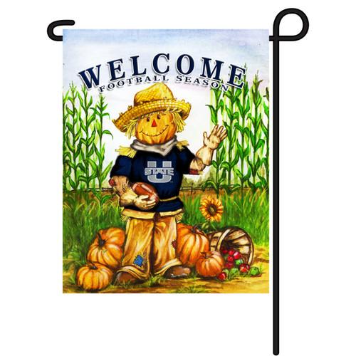Utah State Scarecrow Garden Flag
