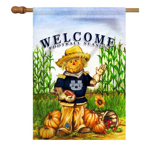 Utah State Scarecrow House Flag