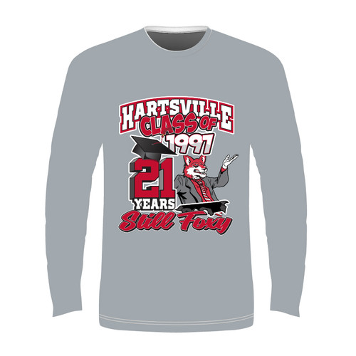2018 Long Sleeve Sublimated - Grey