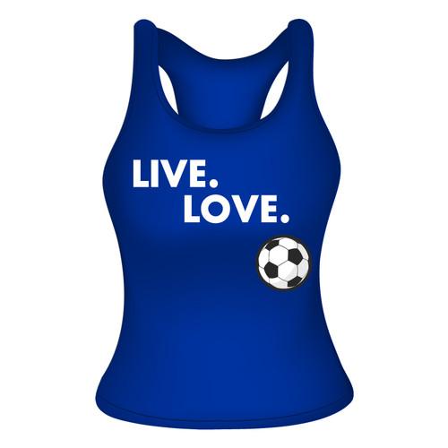 Live Love Racerback