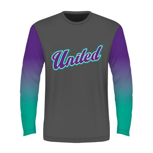 SC United Long Sleeve T - Sublimated