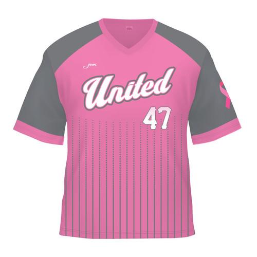 SC United Replica Jersey - Pink