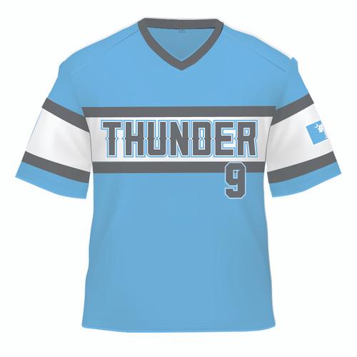 Carolina Thunder Replica Jersey - Columbia