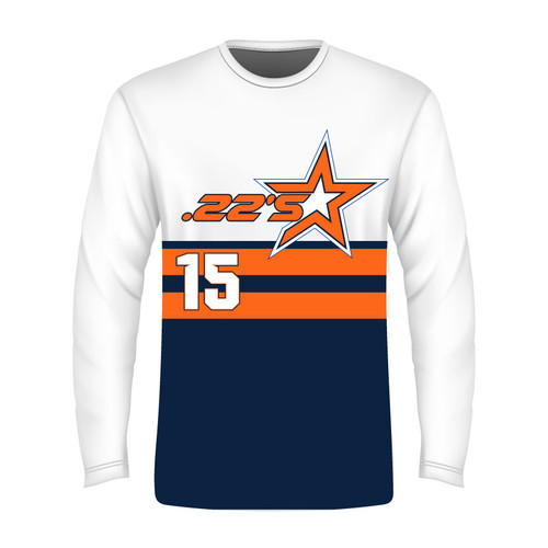 22's Long Sleeve T - Sublimated