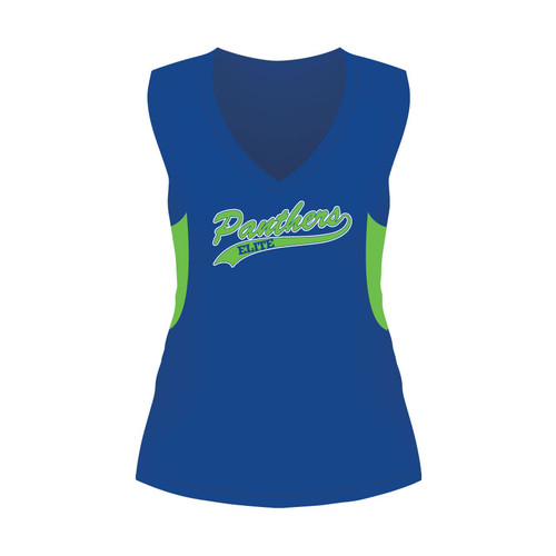 Panthers Elite Ladies Sleeveless Shirt