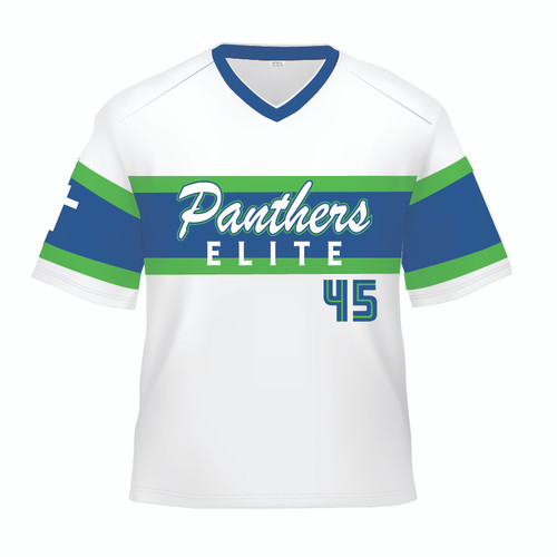 Panthers Elite Replica Jersey - White