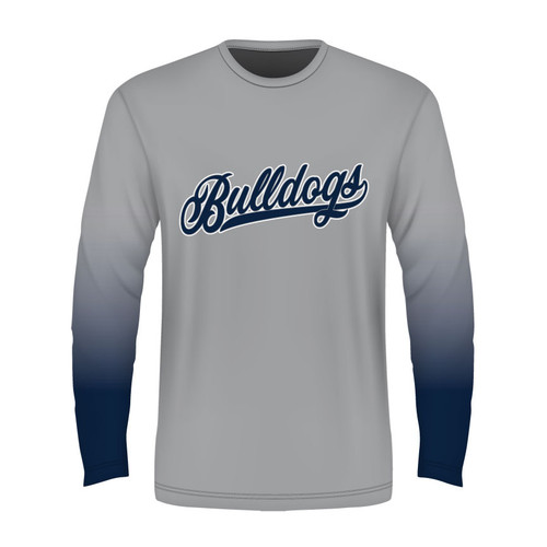 Bay City Bulldogs Long Sleeve T - Sublimated