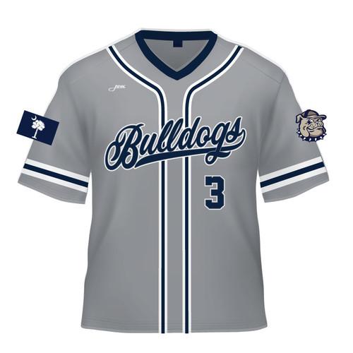 Bay City Bulldogs Replica Jersey - Grey