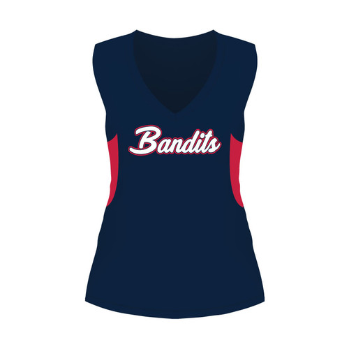 Cabarrus Bandits Ladies Sleeveless Shirt