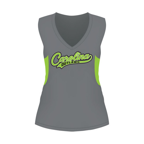 Carolina Outlaws Ladies Sleeveless Shirt