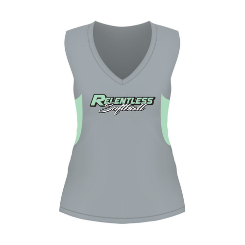 Relentless Ladies Sleeveless Shirt