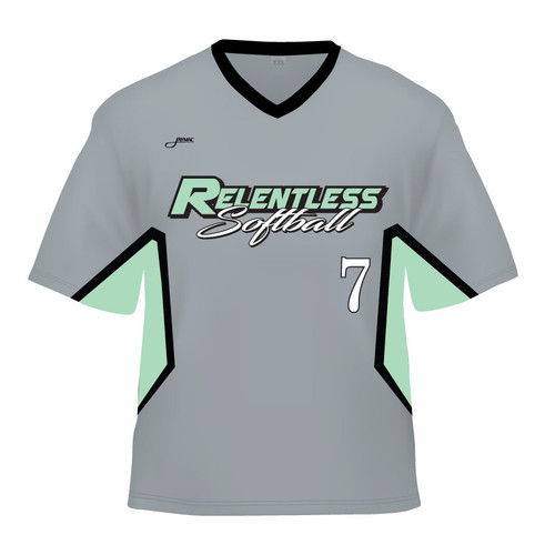 Relentless Replica Jersey - Gray