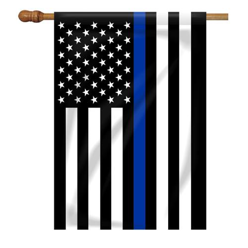 Thin Blue Line House Flag