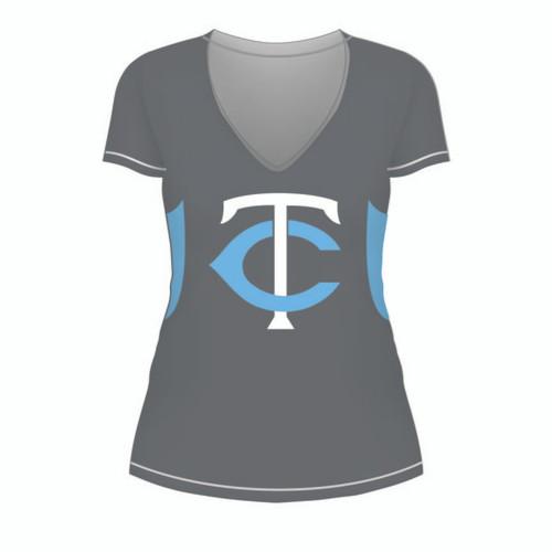 Carolina Thunder Ladies Short Sleeve