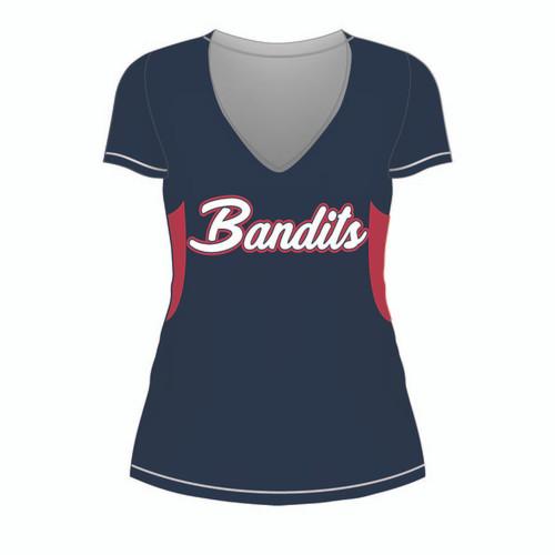 Cabarrus Bandits Ladies Short Sleeve