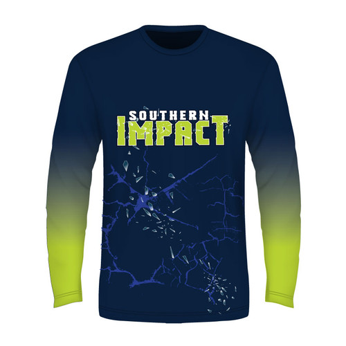 Southern Impact Long Sleeve T - Sublimated