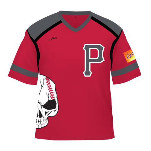 Pamplico Punishers Replica Jersey - Red