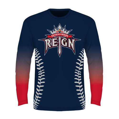 Southern Indiana Reign Long Sleeve T - Sublimated