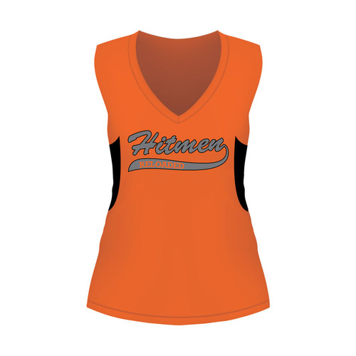 Hitmen Reloaded Ladies Sleeveless Shirt