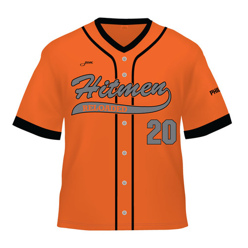 Hitmen Reloaded Replica Jersey - Orange